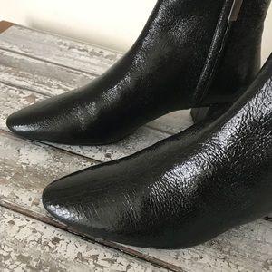 Saint Laurent Shoes - SAINT LAURENT YSL crackled leather boots NIB $995